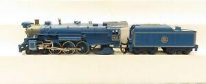 MTH 30-1172-0 Jersey Central Blue Comet Steam Loco w/Locosound LN