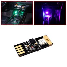 Usb Led Car Interior Light Voice Control Atmosphere Ambient Accesories Colorful (Fits: Daewoo)