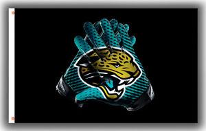 Jacksonville Jaguars Football Memorable Gloves Flag 90x150cm 3x5ft best banner