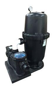 WATERWAY AQUA PRO~CARTRIDGE FILTER SYSTEM~1.5 HP 2 SPEED MOTOR~NEW
