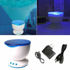 Sensory LED Light Projector Music Relax Calming Autism Toy Blue Night Projection
