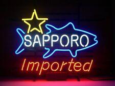 "New Imported Sapporo Bar Cub Party Decor Light Lamp Decor Neon Sign 17""x14"""