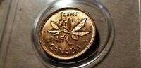 1945 Canada Small Cent -Penny RED BU