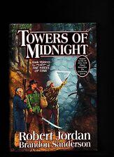 TOWERS OF MIDNIGHT---ROBERT JORDAN-BRANDON SANDERSON---1st1st/2010HCDJ
