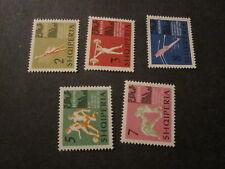 Albania #686-90 Mint Never Hinged - WDWPhilatelic