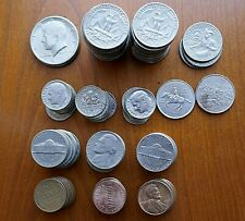 USA 154 coins from currency - 19.18 Dollars face