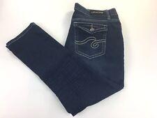Jeans Colony Womens Skinny Jeans Size14 Stretch Dark Wash Flap Pockets