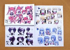 Gonna be the Twin-Tail!! settei sheets
