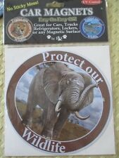 New listing Protect Our Wildlife Car Magnet ~ Stunning Elephant Photograph