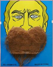 Arab Genie Scottish Fancy Dress Goatee Beard Brown can be trimmed to suit