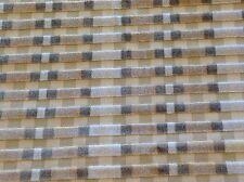 Groundworks Raised Velvet Stripe Upholstery Fabric Striscia Velvet Sand 1.33 yd