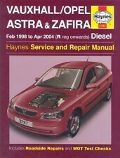 Vauxhall/Opel Astra and Zafira Diesel Service and Repair Manual: 1998 to 2004 b…