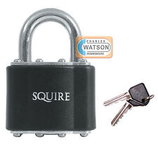 Squire 39 Laminated Padlock 51mm Open Shackle Lock Shed Gate Toolbox Security