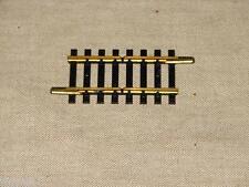 FLEISCHMANN ( 1700/4 U ) RAIL 2 COUPURES EN LAITON RESEAUX HO QUANTITÉ AU CHOIX