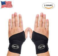 Wrist Wrap Support Pain Relief Brace Carpal Tunnel Arthritis 1 Pair Both Hand