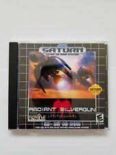 Radiant Silvergun Sega Saturn (sega saturn custom )