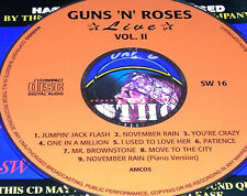 Guns N' Roses Live Vol. 2 CD Rare Patience November Rain (Piano Version) Slash