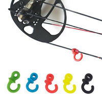 4× Archery Bow String Stabilizer Monkey Tail Silencer Bowstring Damper Set Newly