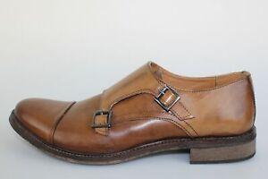 chaussures homme VIVA - 43 EU - élégantes marron cuir DM07