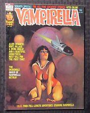 1975 VAMPIRELLA Warren Magazine #46 FN+ 6.5 Author F. Paul Wilson FPW Collection