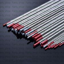 10PC OD 1*175mm 98% Red WT20,Thorium Tungsten stick,Electrode rod VA21 CH