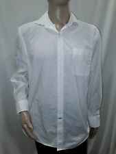 Men's Large White Tommy Hilfiger Dress Shirt