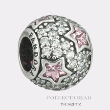 Authentic Pandora Silver Follow The Stars Pink CZ Bead 791382PCZ *SPECIAL!!!