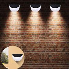 6LED Energia Solare Alimentato parete luci illuminazione per esterno giardino CN