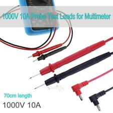 Universal 70cm 10A 1000V Probe Test Leads for Digital Multimeter Meter Tester