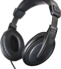 Hama TV Kopfhörer mit extra langem Kabel 6m schwarz Stereo