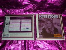 JOSS STONE : THE SOUL SESSIONS  (CD,10 TRACKS, 2003)