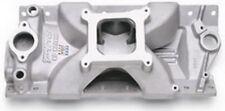 Edelbrock 2975 Aluminum Victor Jr Intake Manifold Sbc Small Block Chevy Single