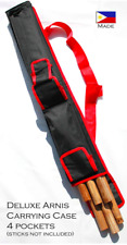 Arnis Authority Sports Case 30 inches long with adjustable strap [black/red]