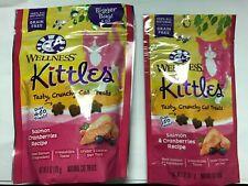 New listing Wellness Kittles Salmon & Cranberry Recipe Grain Free 6oz & 2 oz Bundle