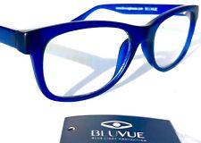 Bloqueo de luz azul lector de moda de juegos informáticos Gafas Encerado Azul Mate Var