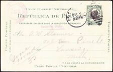 Canal Zone - 1913 - 2 Cents Green & Black Overprinted Postal Card #UX4 F-VF Nice