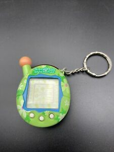 Tamagotchi Connection V4 Green Floral print - NEW Out Of Package