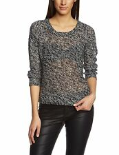 W3160 Vero Moda Damen Strick Pullover Schwarz L