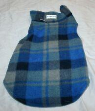 New listing Scenereal Reversible Fleece Plaid Dog Coat Jacket - Sm, Med, or Lg