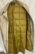 Vintage Bauer Down OverCoat Eddie Bauer By Lord Forecaster 46 Down Plaid Lining