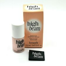 Benefit Liquid Highlighter High Beam Satiny Pink Glow Strobe Full Size 10 Ml