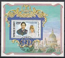 Dschibuti Block 40 A Hochzeit von Prinz Charles und Lady Diana Spencer
