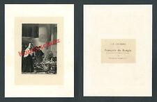 Or. photogravüre Laurens Franz di Borgia Isabella di Portogallo nobiltà STEMMA 1876