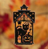 MILL HILL Autumn Harvest Beaded Cross Stitch Kit - TABOO KITTY - MH18-1921