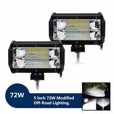 4PCS 5'' 72w 10800lm Philips LED Spot Light for Offroad Rv Atv SUV Boat 4x4 Jeep