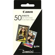 Canon Zoemini Zink Photo Paper: 50 Sheets