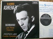 SXL 6057 WBG ED1:  ASHKENAZY - RACHMANINOV PIANOCONC 3: NM