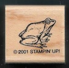 Frog Garden Amphibian Creek Ditch Country Life Stampin' Up! Hobby Rubber Stamp