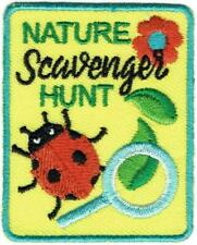 Girl Boy Cub Scavenger Hunt List Search Fun Patches Crests Badges Scout Guide