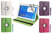 360 Rotating Flip Leather Stand Tab Case Cover Fit For Samsung Galaxy Tab 4 T530